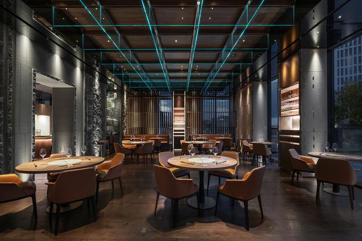 Современный японский ресторан по проекту Маурицио Лаи (фото 0)