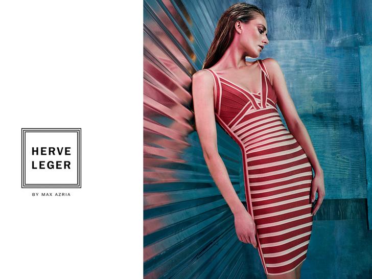 Herve Leger by Max Azria представил рекламную кампанию коллекции Resort 2014