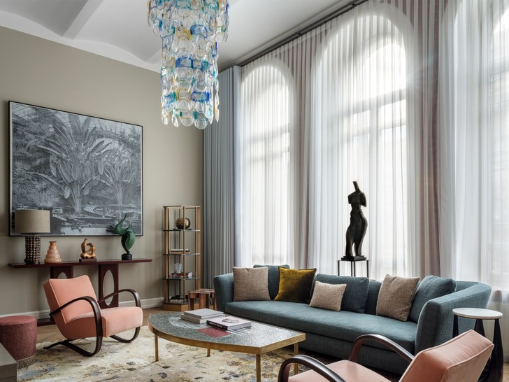 Квартира с предметами искусства: проект Надежды и Гиви Ананьевых (фото 0)