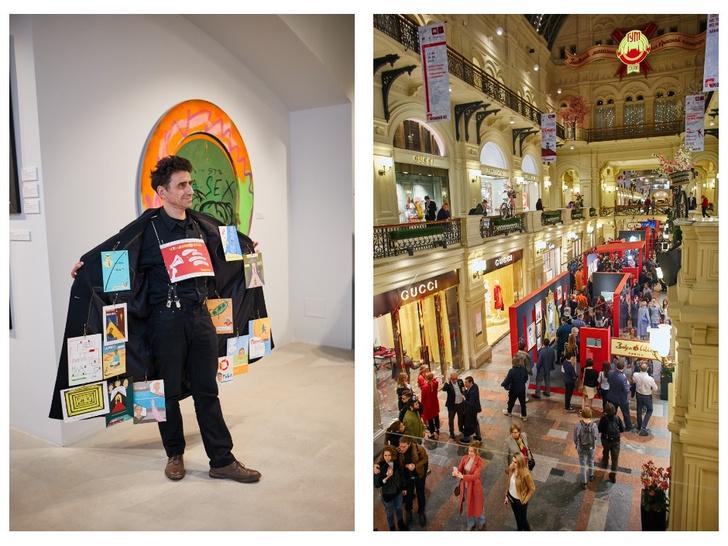 Ксения Собчак, Риналь Мухаметов и другие гости открытия выставки ГУМ-Red-Line (фото 1)