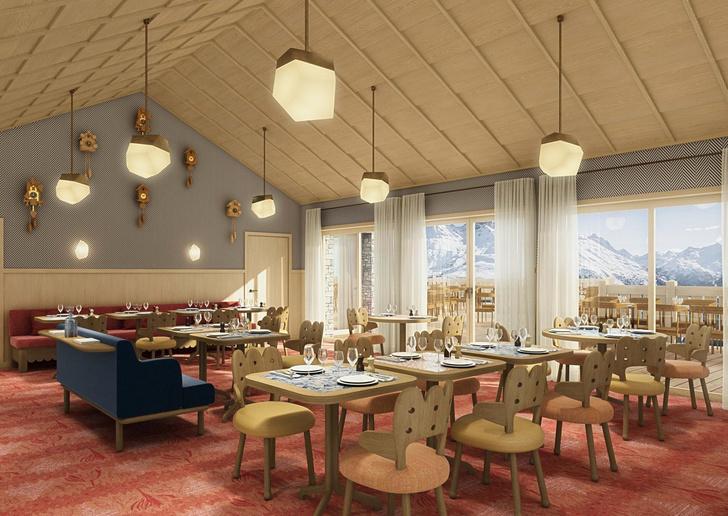Le Coucou: дизайн-отель по проекту Пьера Йовановича в Мерибеле (фото 19)