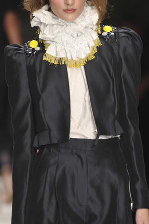 Показ Betty Jackson коллекции сезона Весна-лето 2010 года prêt-à-porter - www.elle.ru - Подиум - фото 111817