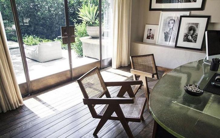 Kourtney Kardashian Home Office