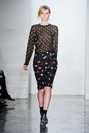 Показы мод Suno Осень-зима 2012-2013 | Подиум на ELLE - Подиум - фото 1714