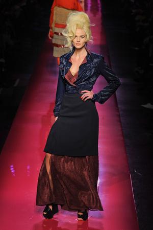 Показ Jean Paul Gaultier коллекции сезона Весна-лето 2012 года Haute couture - www.elle.ru - Подиум - фото 332619