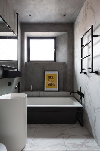 Белая квартира с синими акцентами 78 м² (фото 7.2)