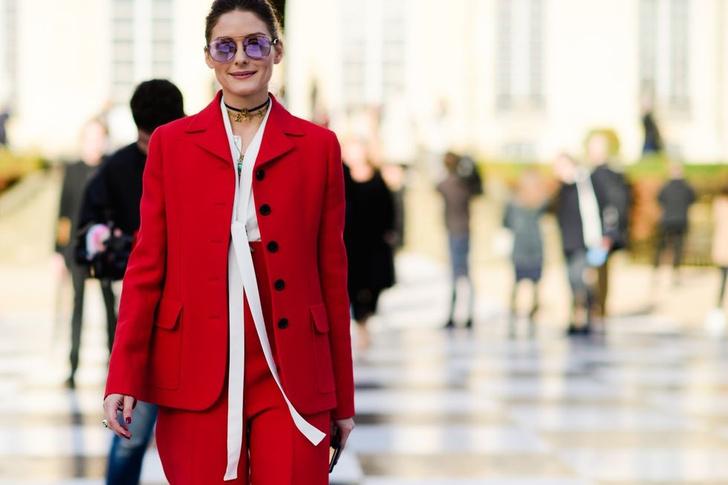 Самые модные люди на улицах Парижа (фото 45)