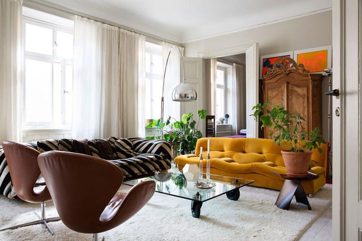 Дом для творческой пары в Стокгольме (фото 1)