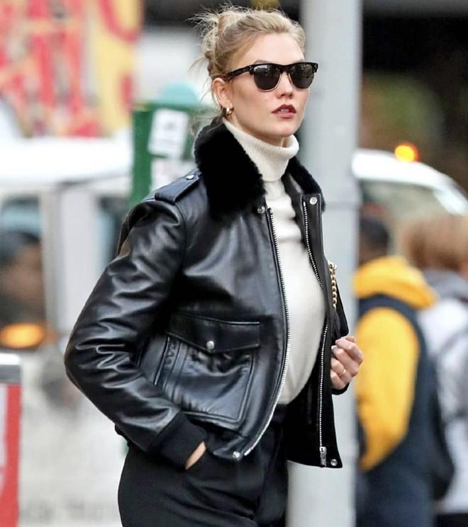 Кожаная куртка с мехом — лучшая покупка ноября (фото 5)
