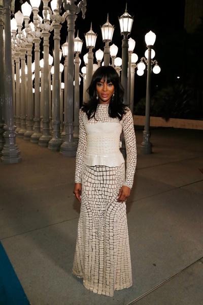 Лучшие вечерние платье Наоми Кэмпбелл | галерея [1] фото [21]