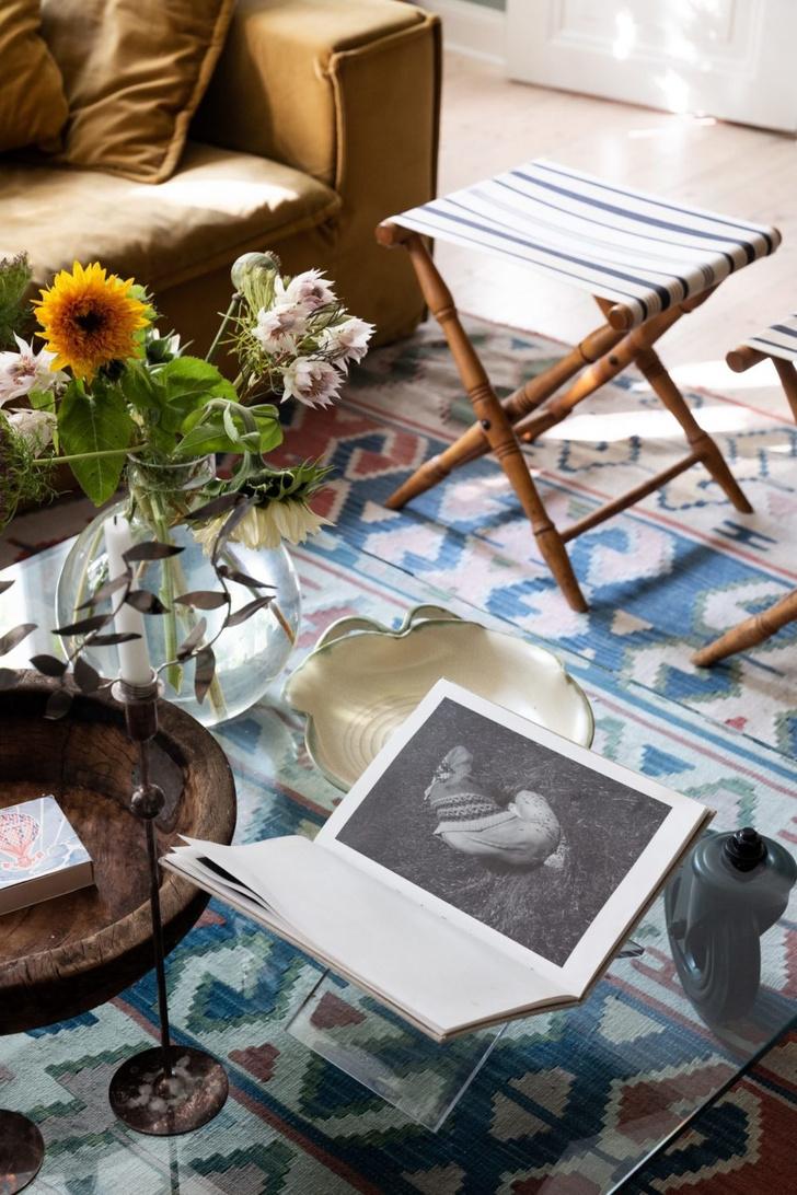 Скандинавский голубой: дом стилиста Софии Вуд (фото 12)