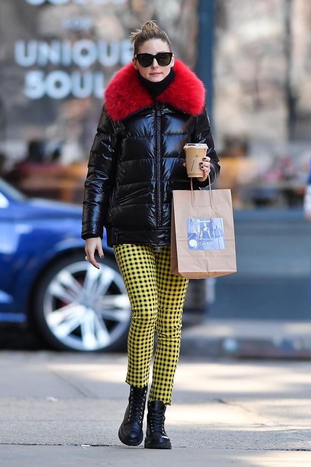 Яркие принты и бруклинские печенья: как Оливия Палермо поднимает себе настроение во время карантина (фото 0)