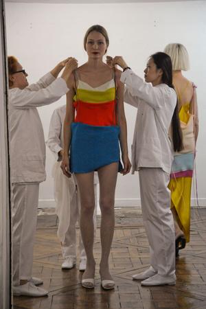 Показ Adeline Andre коллекции сезона Осень-зима 2010-2011 года Haute couture - www.elle.ru - Подиум - фото 167251