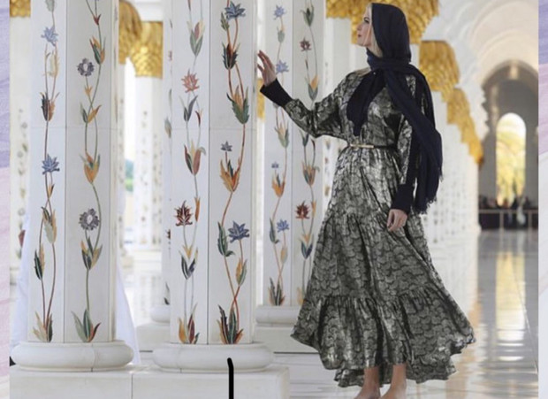 Арабская сказка: Иванка Трамп в Абу-Даби (фото 1)