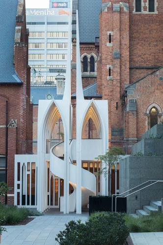 Новая школа церковного хора от Palassis Architects (фото 4.1)
