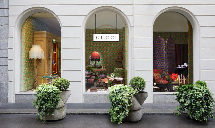 Pop-up бутик Gucci на Миланской неделе дизайна (фото 7)