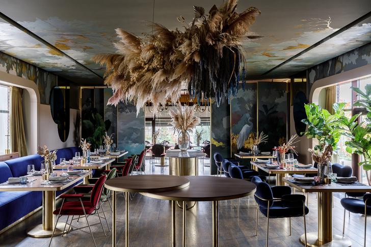 Ресторан с росписями под Белгородом (фото 9)