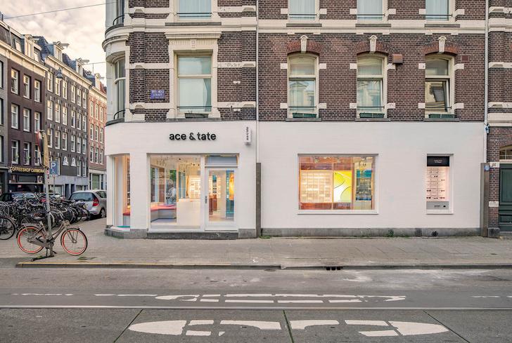 Яркая оптика: флагманский бутике Ace & Tate в Амстердаме (фото 5)