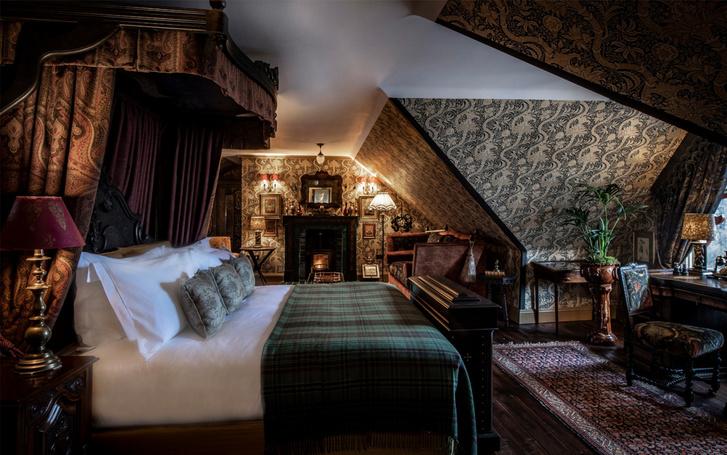 Отель в старинном охотничьем домике в Шотландии (фото 6)