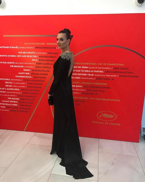 Русские в Каннах: Елена Исинбаева появилась на красной дорожке | галерея [1] фото [1]