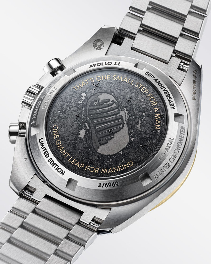 Просто космос: Omega выпустили лимитированную серию часов в честь 50-летия высадки на Луну (фото 5)