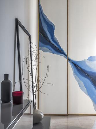 Этюд в синих тонах: двухкомнатная квартира в Москве (фото 3.1)