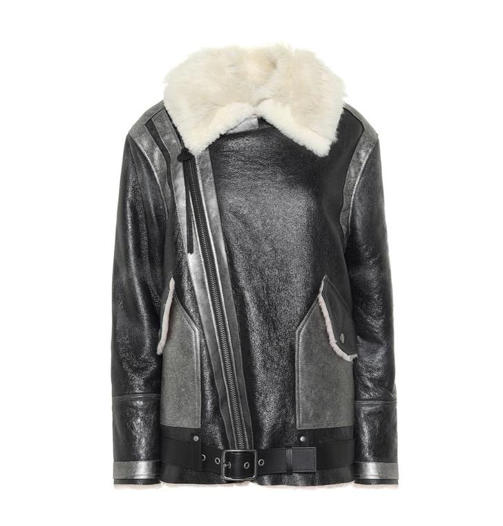 Кожаная куртка с мехом — лучшая покупка ноября (фото 9)