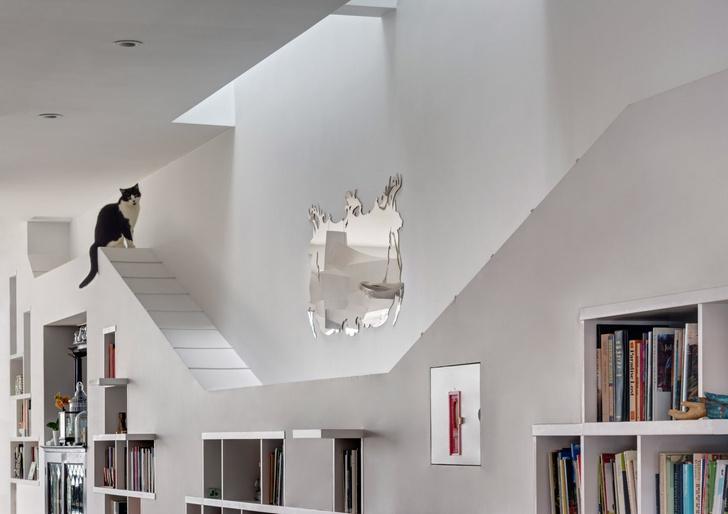 «Дом для любителей кошек и книг» в Бруклине (фото 5)