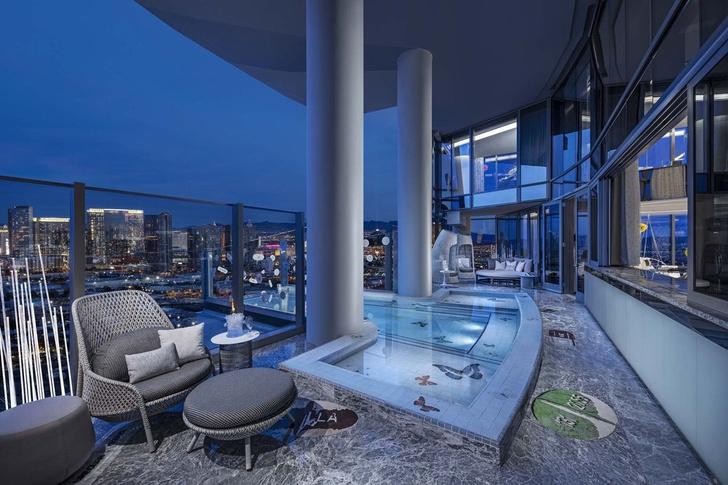 Дэмиен Херст оформил номер в отеле Palms Casino Resort (фото 6)