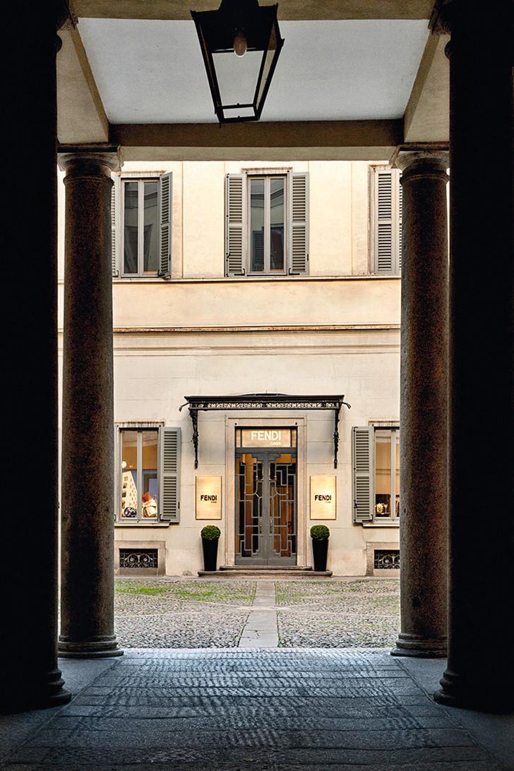 Открылся флагманский бутик Fendi Casa фото [5]