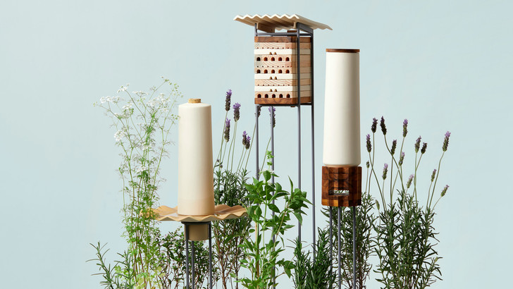 Дизайнерские ульи и домики для насекомых (фото 3)