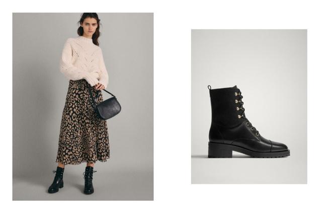 Как сочетать длину юбок с зимней обувью (фото 1)