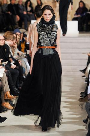 Показ Bouchra Jarrar коллекции сезона Весна-лето 2012 года Haute couture - www.elle.ru - Подиум - фото 330134