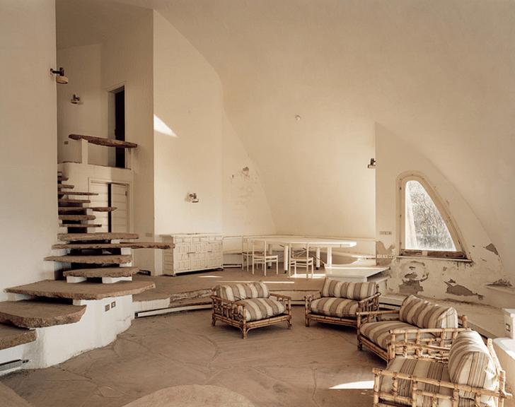 Дом-купол Микеланджело Антониони и Моники Витти (фото 13)