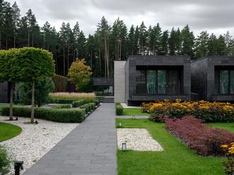 Современный дом  4500 м² с красивым садом на Новой Риге: проект бюро Woodstone (фото 5.2)