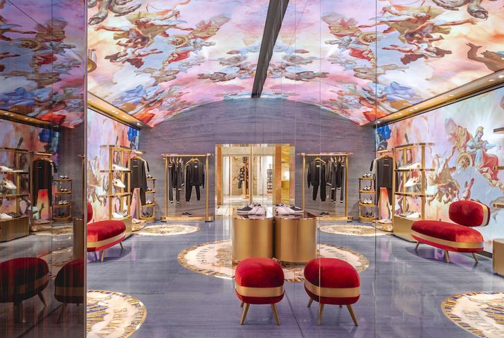 Экстравагантный бутик Dolce&Gabbana в Риме (фото 12)