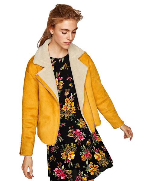 Женские куртки из натуральной кожи с мехом фото