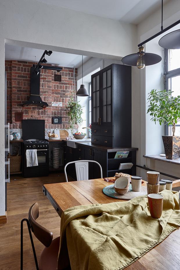 Квартира в скандинавском стиле 73 м² с элементами лофта (фото 5)