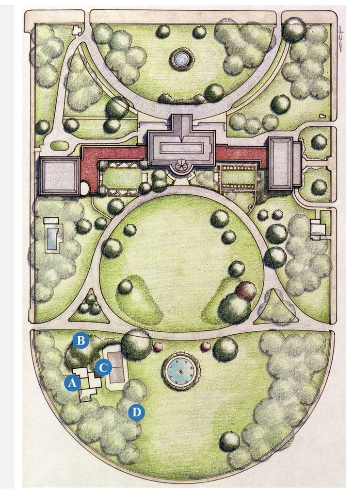 Проект теннисного павильона в Белом доме (фото 4)
