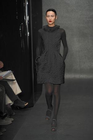Показы мод Donna Karan Осень-зима 2010-2011 | Подиум на ELLE - Подиум - фото 2839
