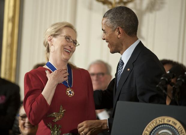 Мэрил Стрип получила Президентскую Медаль Свободы