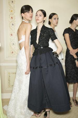 Показ Christophe Josse коллекции сезона Весна-лето 2013 года haute couture - www.elle.ru - Подиум - фото 477823