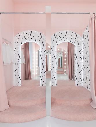 Яркая концепция в минималистичном дизайне в магазине от AKZ Architectura (фото 1)