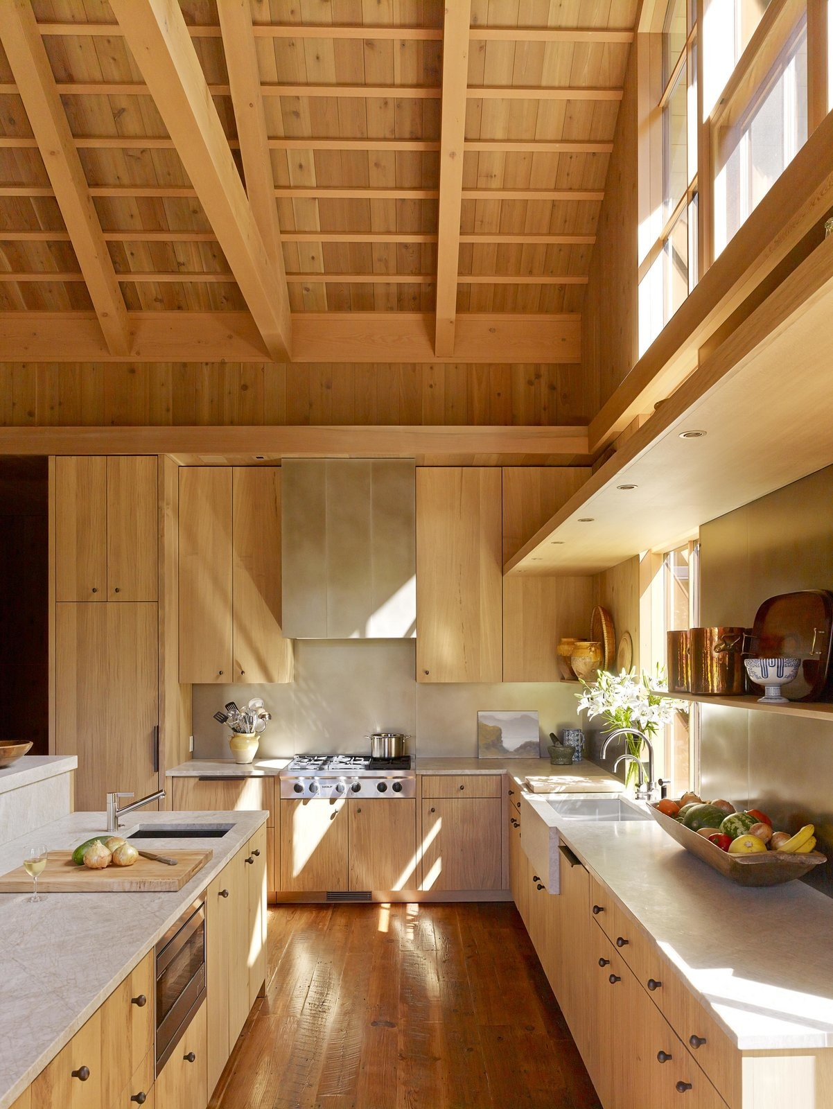Деревянные кухни (галерея 0, фото 1)