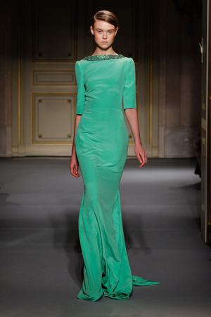 Показ Georges Hobeika коллекции сезона Весна-лето 2013 года Haute couture - www.elle.ru - Подиум - фото 477516