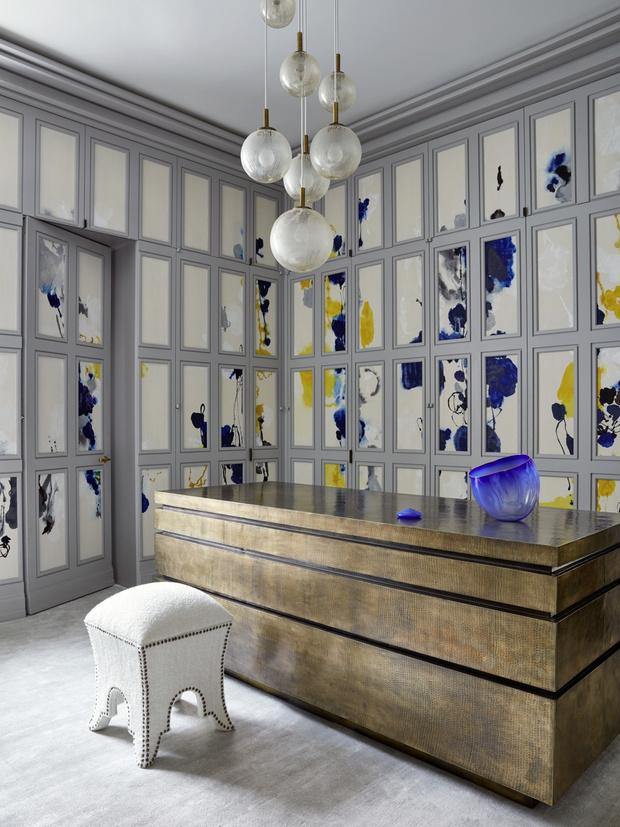 Дом на Манхэттене по дизайну Жан-Луи Деньо (фото 19)