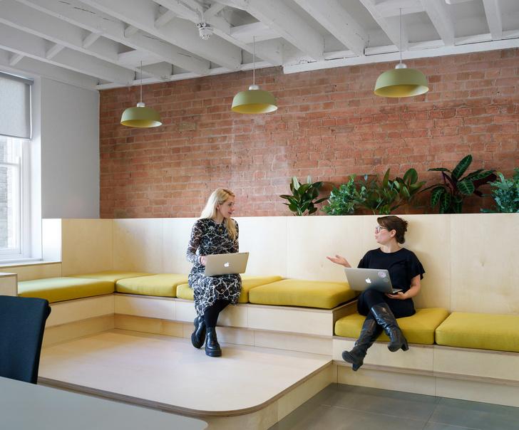 Новый офис Airbnb в Лондоне (фото 11)