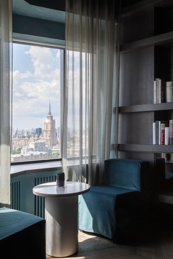 На высшем уровне: VIP-лаунж отеля Azimut в Москве (фото 15)