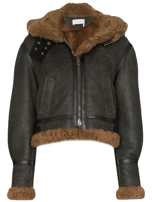 Кожаная куртка с мехом — лучшая покупка ноября (фото 13)
