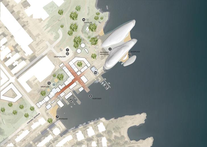 На месте бывшего аэропорта В Осло появится новый городской Аквариум фото [7]
